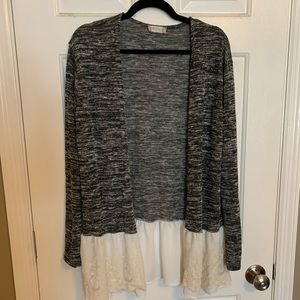 Altar'd State Lace Cardigan